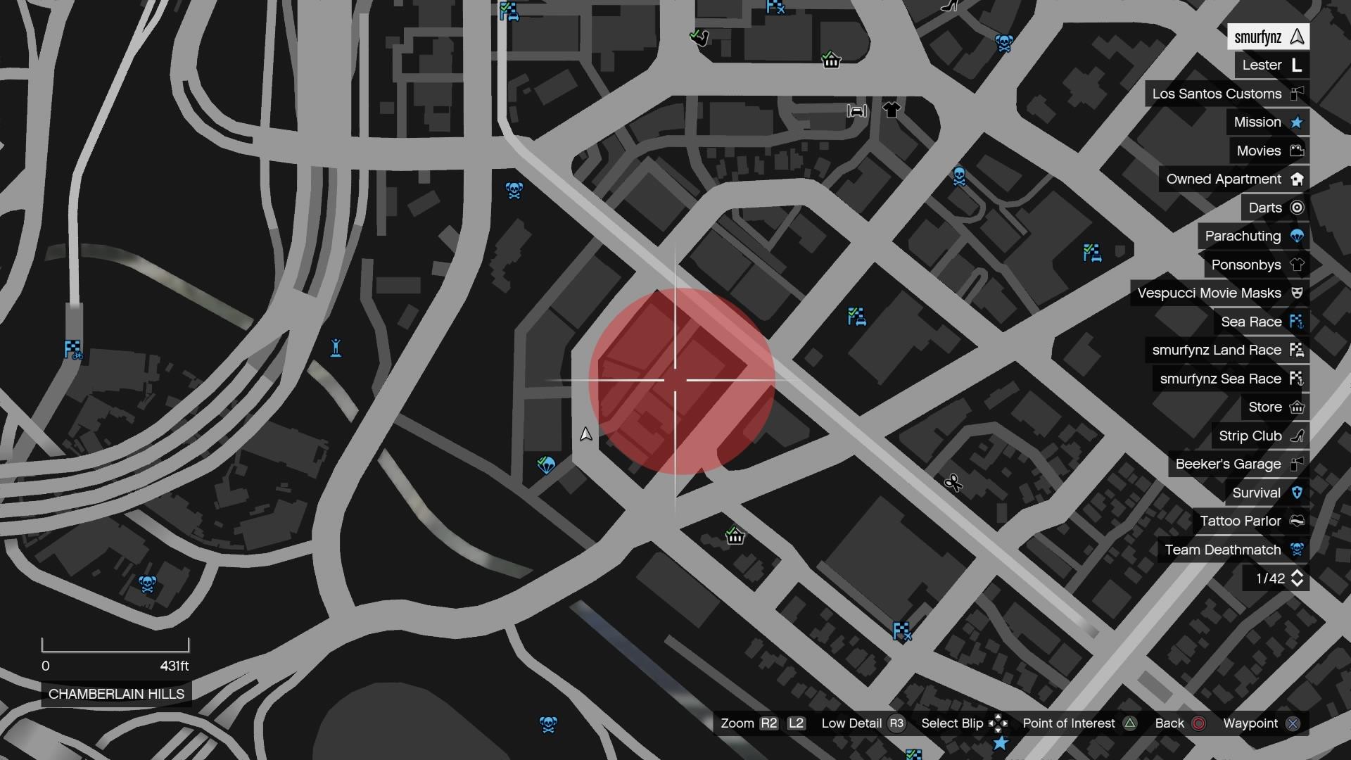 Карта бандитских разборок в гта 5