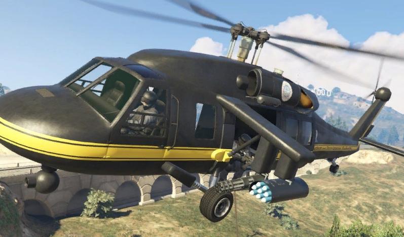 Как летать на вертолете GTA 5