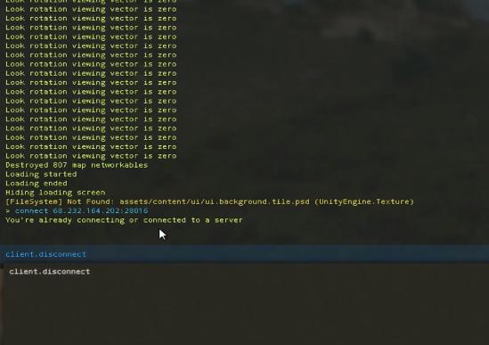 узнать ip сервера rust