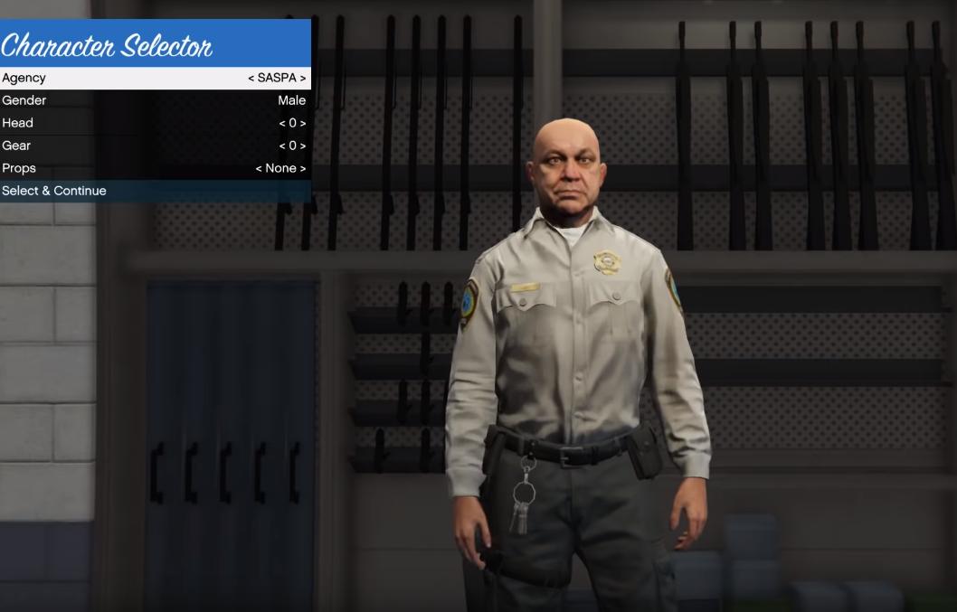 как устроиться полицейским в гта 5