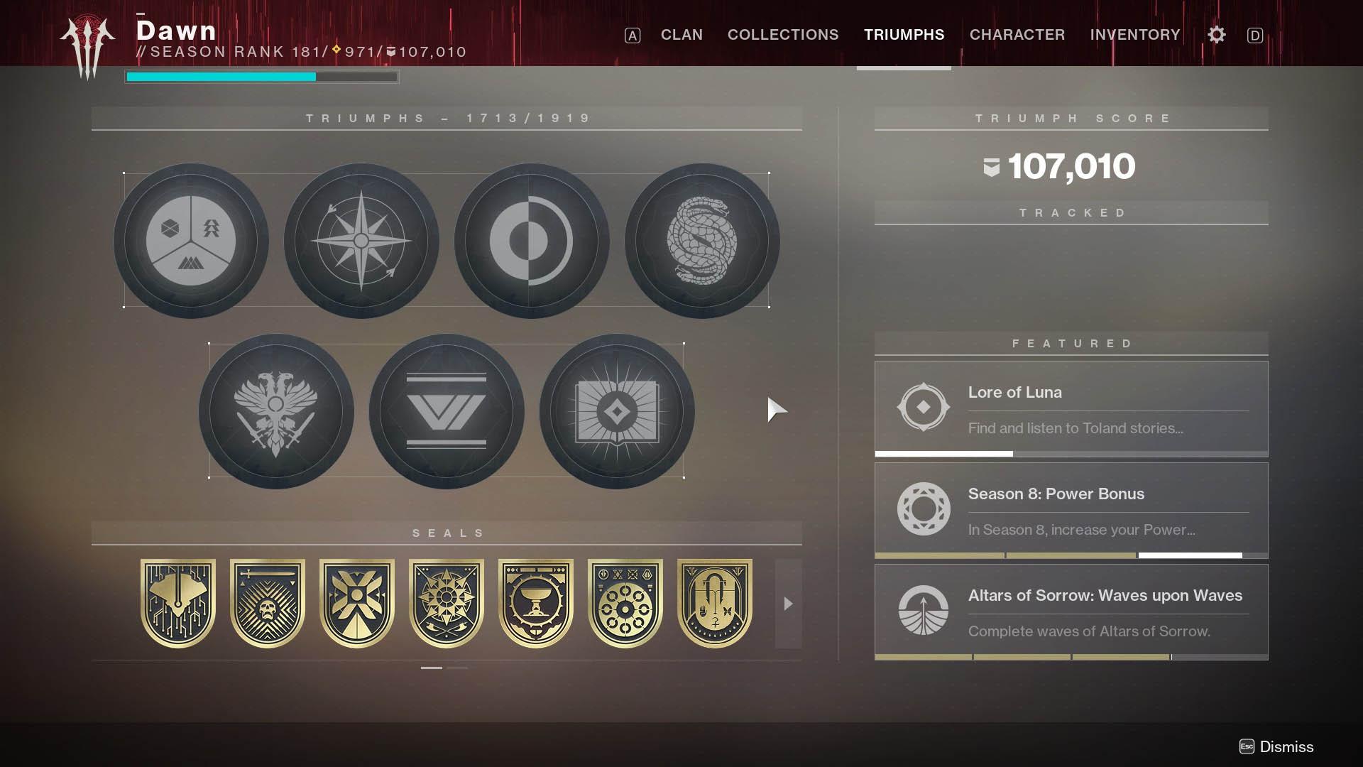 destiny 2 титулы